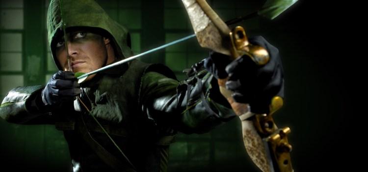Arrow indossa la maschera!