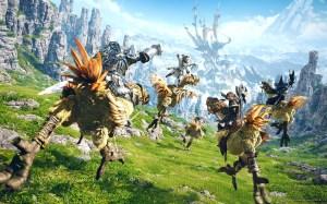 Scena tratta da un filmato di gioco di A Realm  Reborm