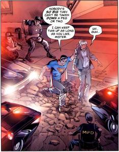 Tornano i tempi duri e torna il Superman nemico dei corrotti.