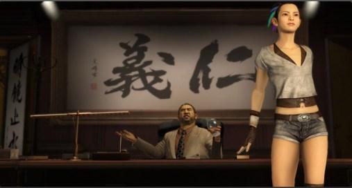 Ah ovviamente essendo in Giappone non potevano mancare nè la yakuza nè delle 12enni vestite da prostitute