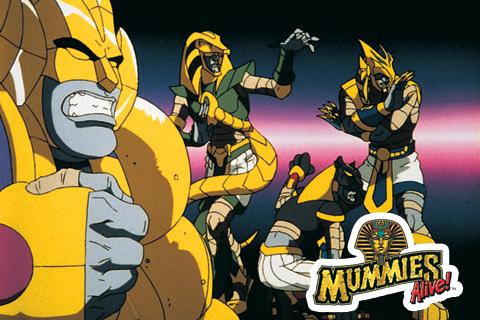 Le Oscure Trame: Mummies Alive – Quattro mummie in metropolitana!