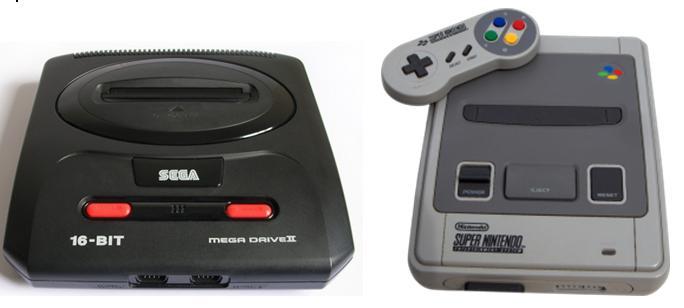 Super Nintendo vs MegaDrive, la console war a 16 bit