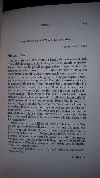 Lettere - Charlotte Bronte