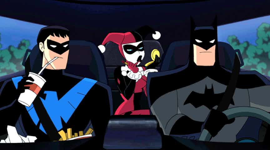 Batman harley quinn la recensione