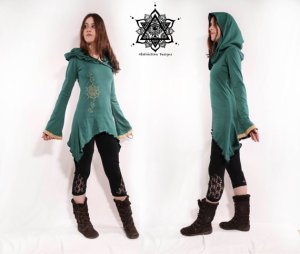 Hooded Tunic - AbstractikaCrafts