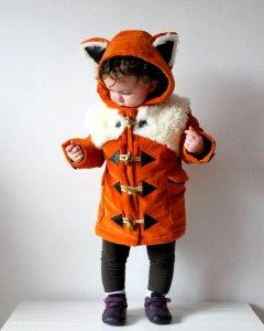 Kids Fox Coat - OliveandVince