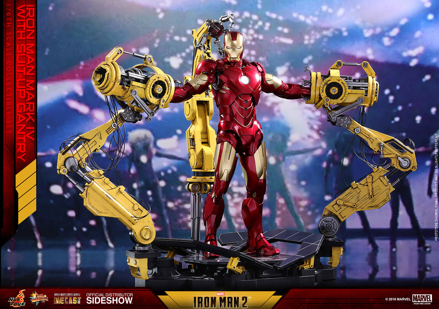 Toy Review: Ironman Suit Up Gantry