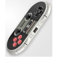 As you see it does have all the buttons a modern controller has and two thumbsticks which looks a bit on the smaller side but i liked them.