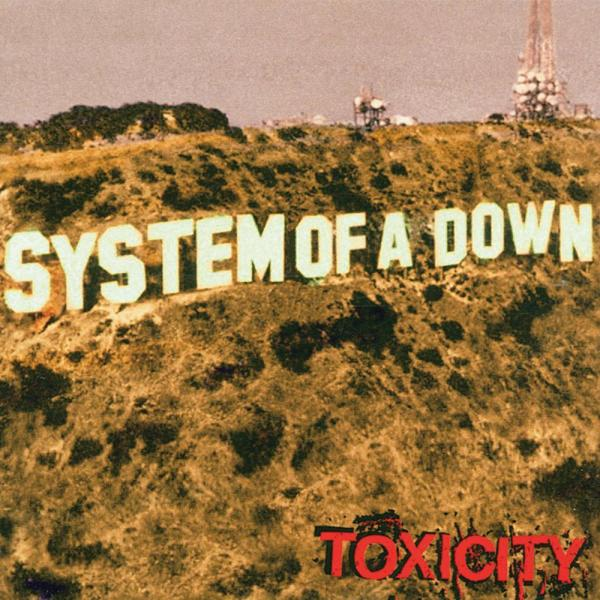 A capa do segundo álbum do System Of a Down, 'Toxicity'