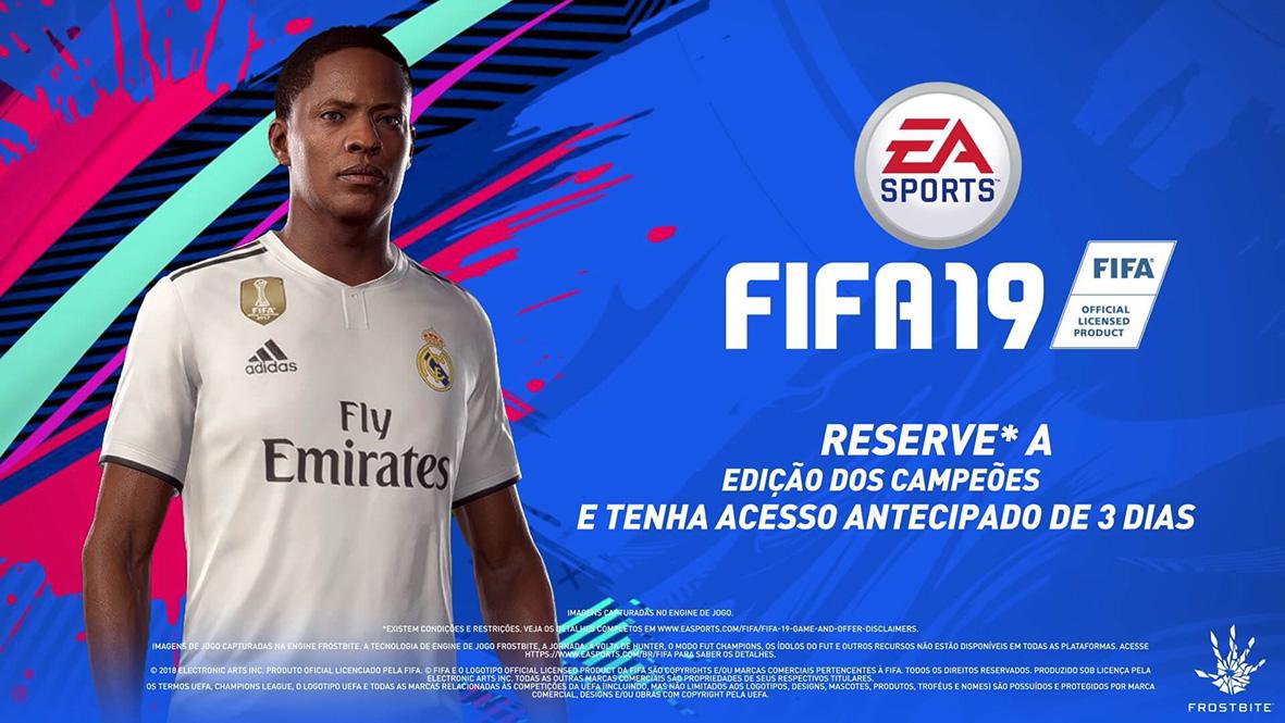 60b755803a7 FIFA 19   EA Sports e adidas Football anunciam Alex Hunter no Real ...