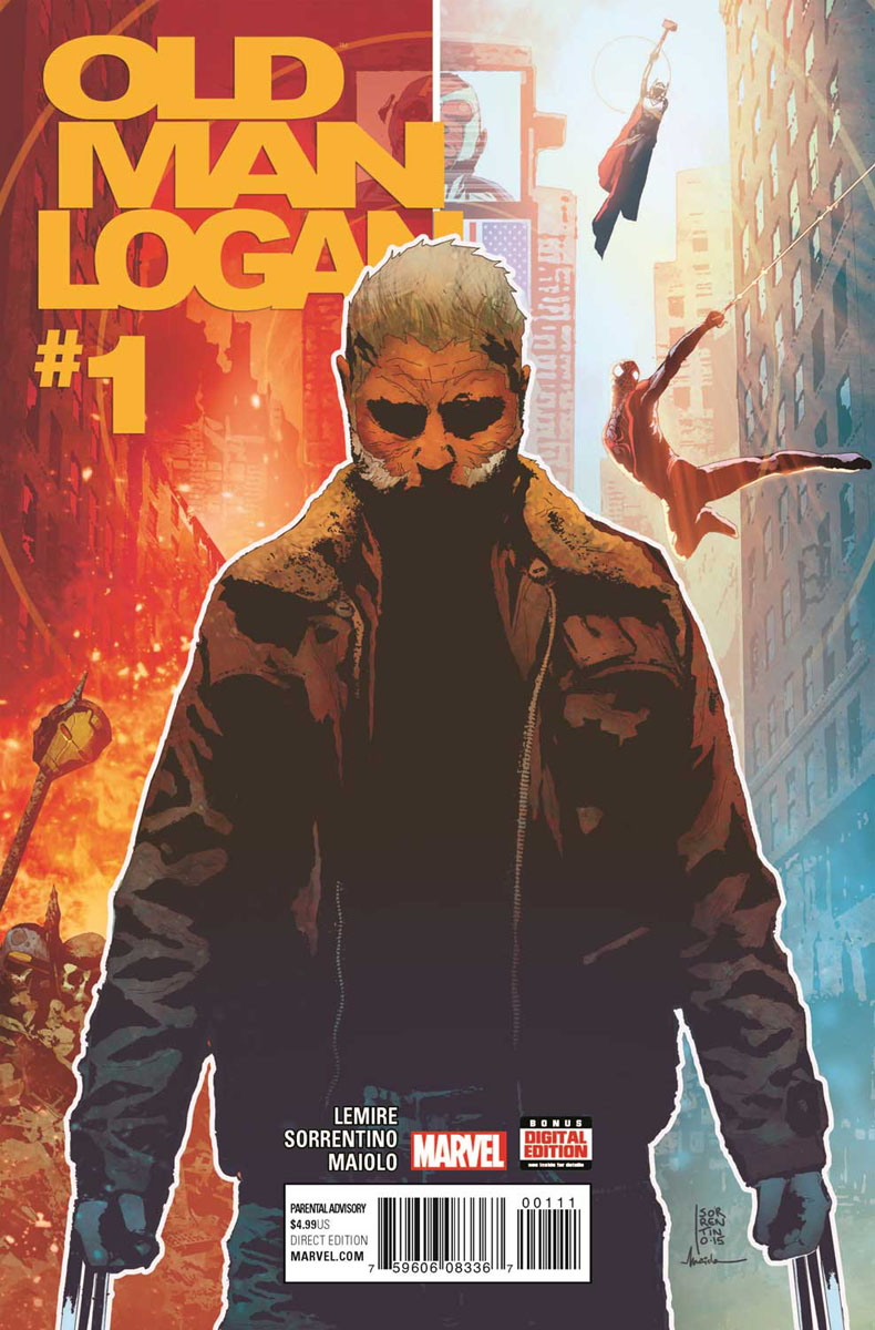 Image result for OLD MAN LOGAN #1