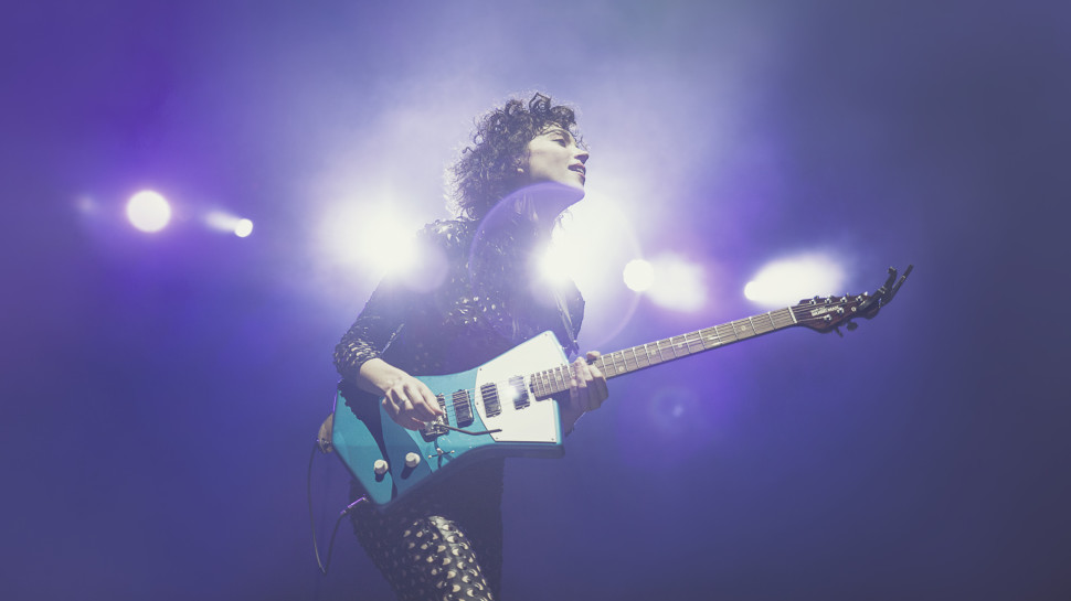 St. Vincent Designs New Guitar that Better Fits the Female Body