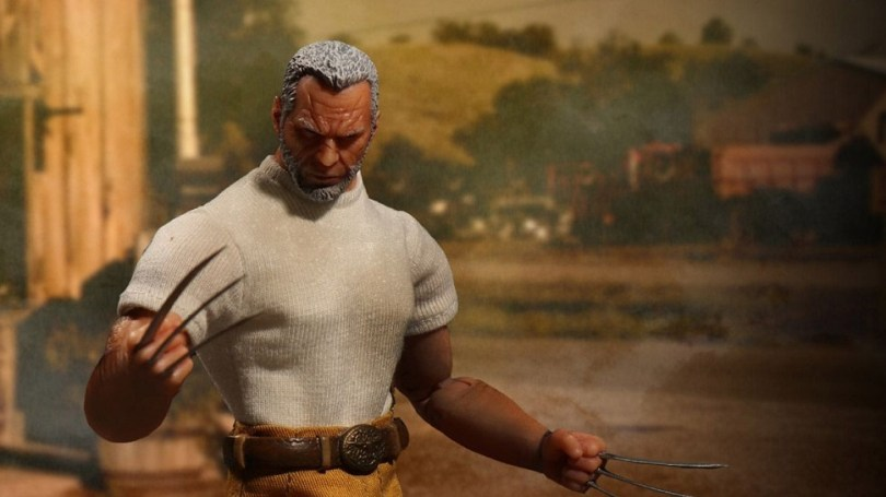 Channel Your Love for the LOGAN Movie Through Mezco s OLD MAN LOGAN     Channel Your Love for the LOGAN Movie Through Mezco s OLD MAN LOGAN Action  Figure