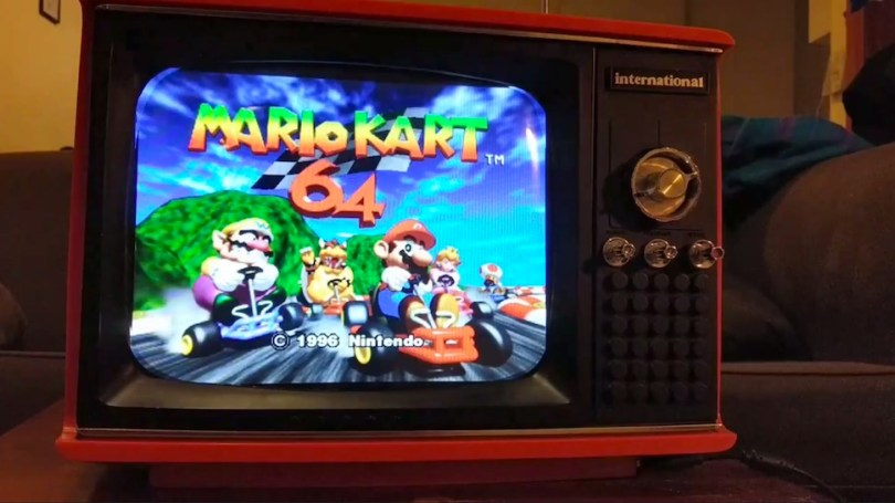 Somebody Turned a Vintage TV into the Ultimate Retro Video Game     Somebody Turned a Vintage TV into the Ultimate Retro Video Game Machine
