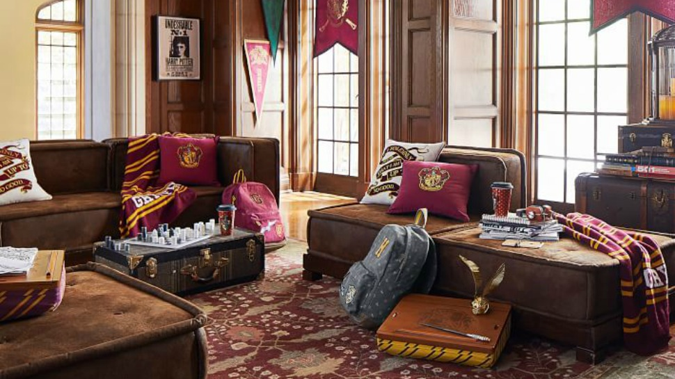 Harry Potter themed interiors