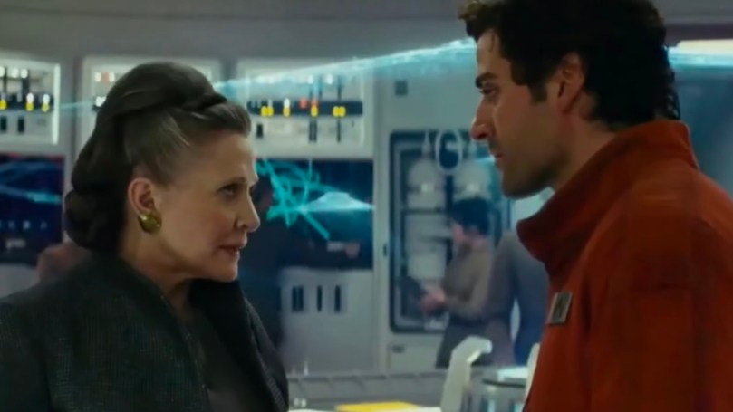 Image result for Star Wars The Last Jedi leia