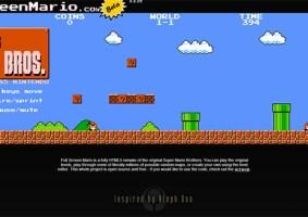 Mario no Navegador