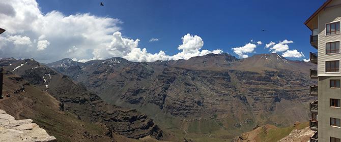 Vista Valle Nevado