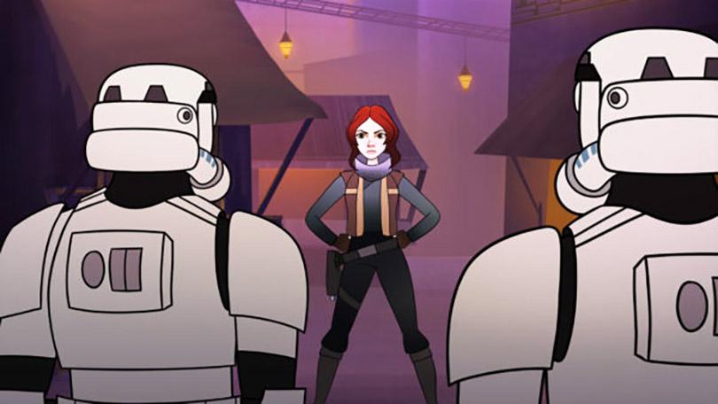 Curtas de animação Star Wars Forces of Destiny foca nas mulheres da saga