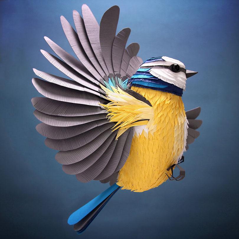 Magníficas esculturas de papel por Lisa Lloyd