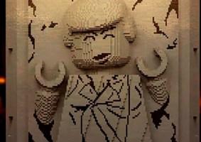 Carbonite do Han Solo de LEGO leva mais de 49 mil peças
