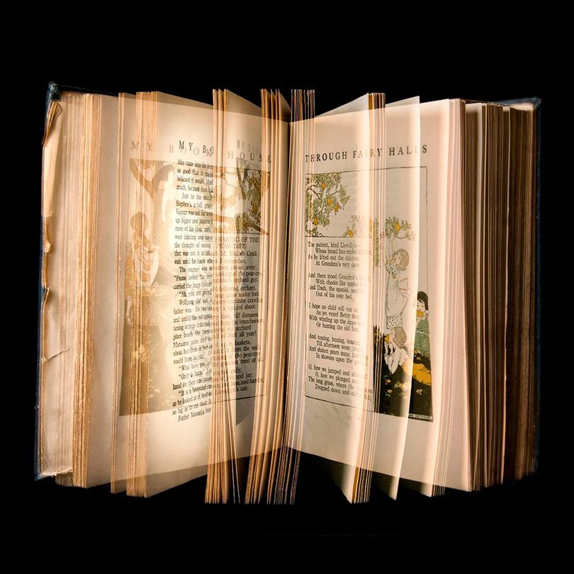Fotografias de múltipla exposição evocam o mundo fantástico livros infantis