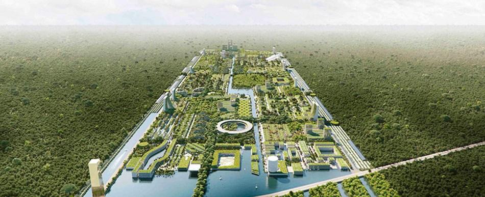 O projeto de Cidade Inteligente Florestal sustentável de Cancún