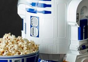 Pipoqueira do R2-D2 vem com recipiente no formato da cabeça do robô