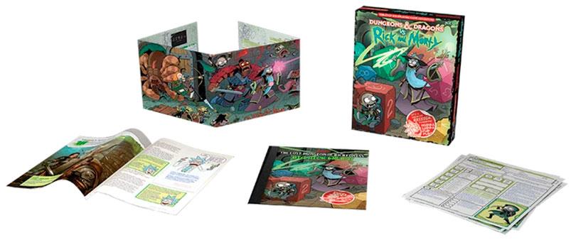 Jogo de tabuleiro de Rick e Morty encontra Dungeons & Dragons