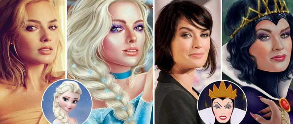 19 Celebridades como personagens da Disney
