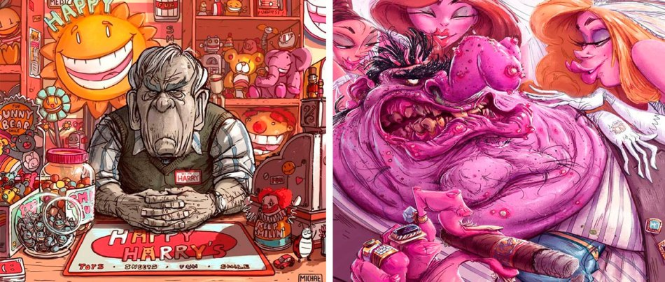 30 Ilustrações sombrias sobre nossa sociedade