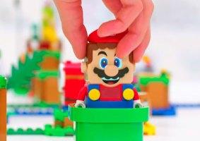 Nintendo e LEGO se juntam para lançar LEGO do Super Mario