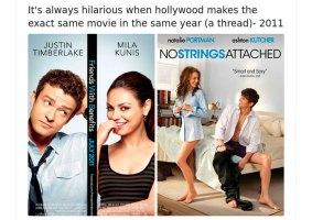 9 exemplos de que Hollywood lança os mesmos filmes no mesmo ano