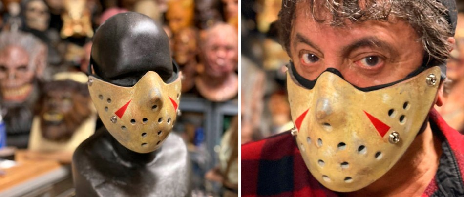 A máscara do Jason para pandemia do COVID-19