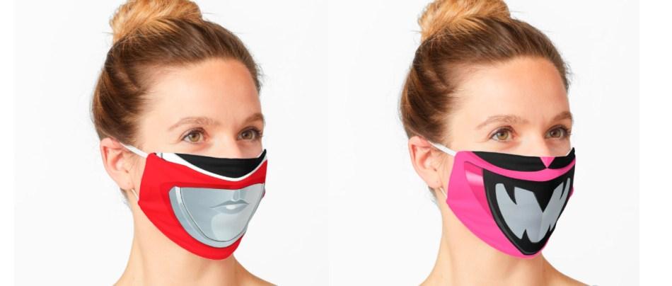 Hora de Mascarar: Máscaras dos Power Rangers
