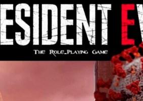 President Evil o RPG de mesa sobre a pandemia no Brasil