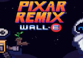 Wall-E 16 bits é o primeiro remix de um projeto da Pixar