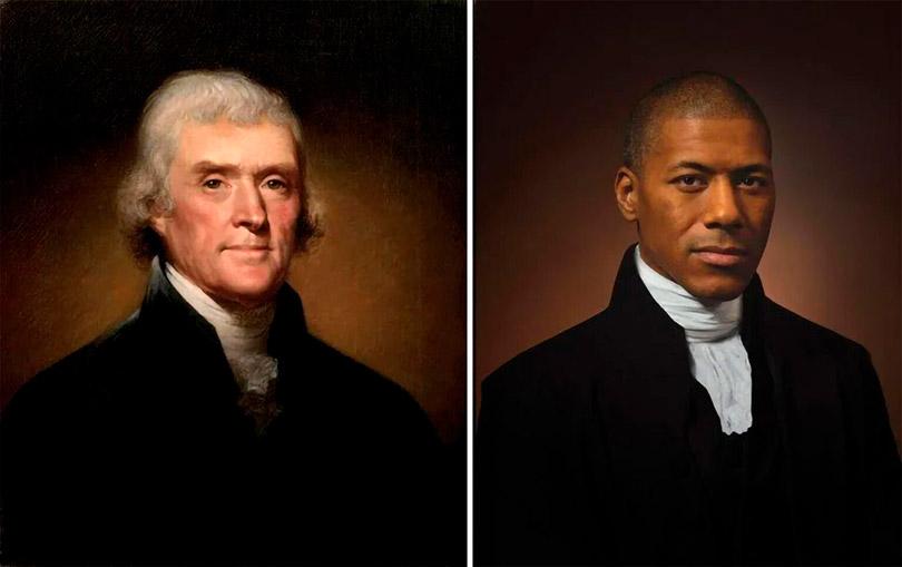 Fotógrafo recria retratos com parentes de figuras históricas