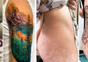 Tatuadora vietnamita faz belas coberturas em cicatrizes
