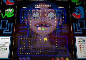 Pac-Man do Gorillaz faz referência ao stress da pandemia