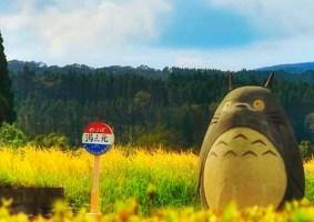 Avós constroem um ponto de ônibus do Totoro para seus netos-GEEKNESS (4)