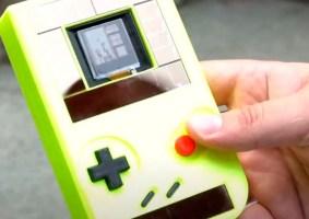 Pesquisadores criam GameBoy com bateria infinita