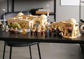 LEGO da Cantina do Star Wars tem mais de 3 mil peças