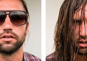 Músicos antes e depois dos shows