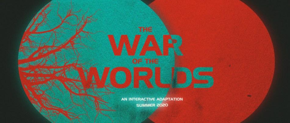 Uma adaptação interativa de A Guerra dos Mundos