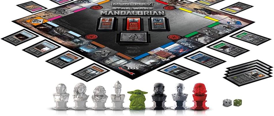 Monopoly do Mandalorian insere novas regras no famoso game