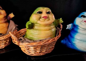 Artista cria escultura de Baby Jabba
