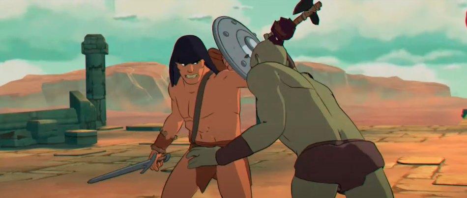 Um sensacional curta do Conan em animação