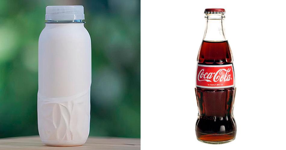 Coca-Cola começa testes de garrafa de papel reciclável