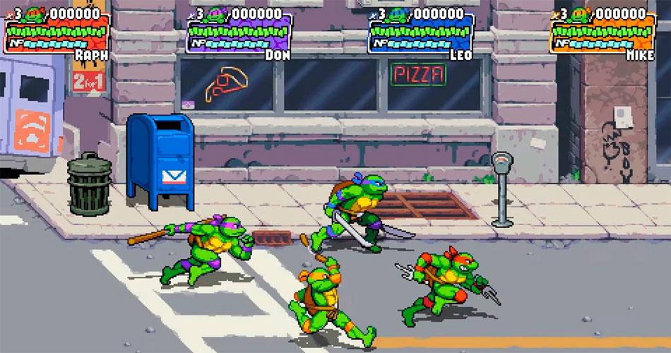Novo game das Tartarugas Ninja lembra os clássicos do fliperama